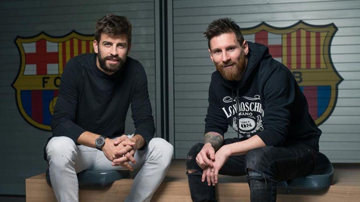 Messi y Piqué se ven con Laporta en privado para recibir explicaciones po la Superliga: Koeman también acudió a la cita