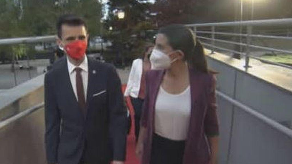 Rocío Monasterio llega al debate del 4M