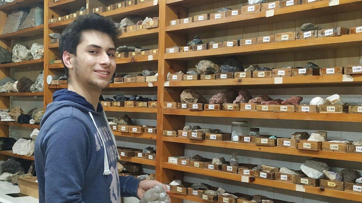 """Álvaro, el alumno que más sabe de Geología en España: """"Me gusta aprender sobre rocas y minerales"""""""