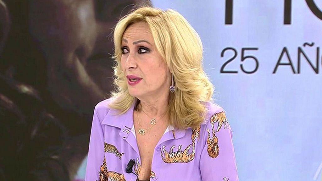"""Rosa Benito no va a ver a Rocío Carraco en plató: """"Por mi salud mental"""""""