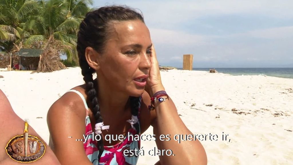 """La decisión que ha tomado Olga Moreno en la isla: """"No hay que pensar en lo de fuera"""""""