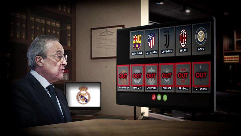 Real Madrid y Barcelona, solos con el proyecto de la Superliga.