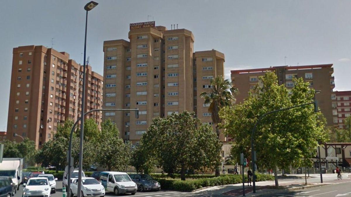 Aislados los estudiantes y trabajadores de un Colegio Mayor en Valencia por un brote que afecta al menos a 12 personas