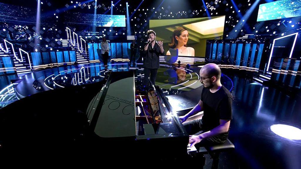 Blas Cantó interpreta el tema de Rocío Jurado 'Como las alas al viento'