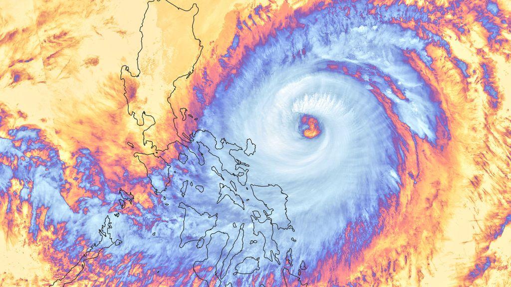 Efecto colateral del tifón Surigae: las aguas del Pacífico se enfrían tras el paso de la tormenta