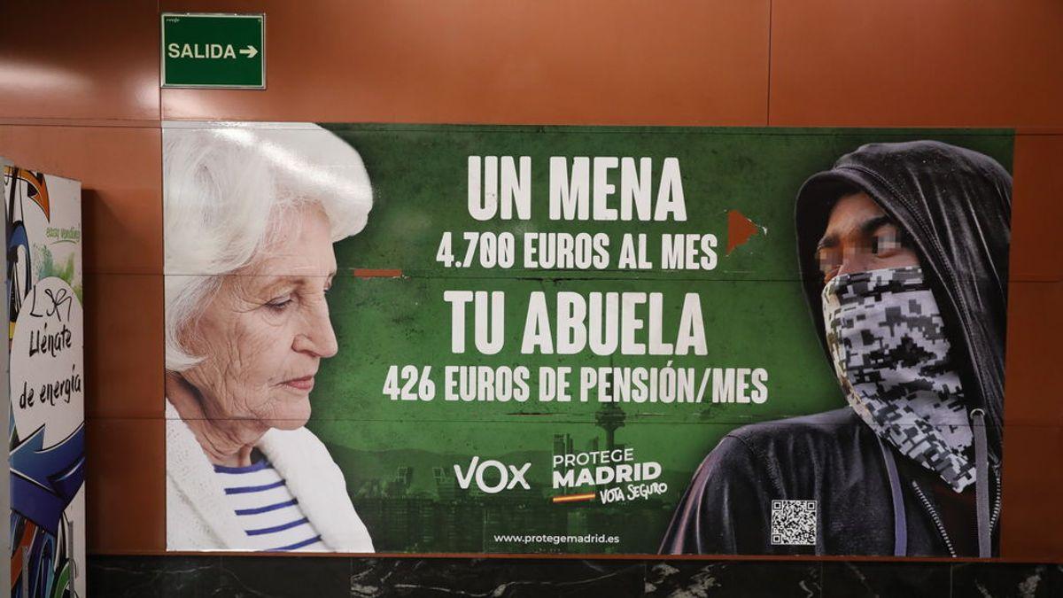 Cartel de propaganda de Vox