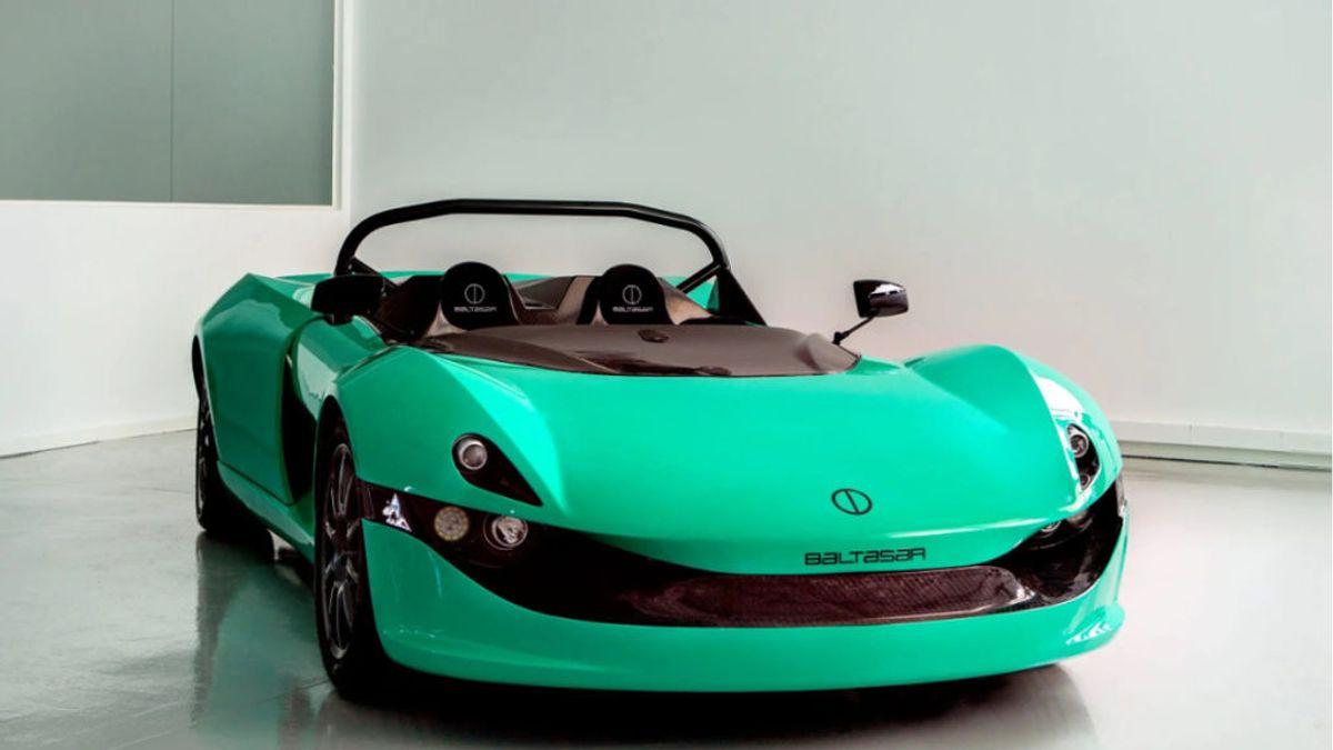 La firma española de coches Baltasar presenta el Revolt, un deportivo eléctrico con 600 kilómetros de autonomía