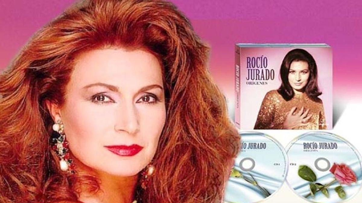 Los 'Orígenes' de Rocío Jurado, en un disco doble que recupera sus cuatro primeros álbumes
