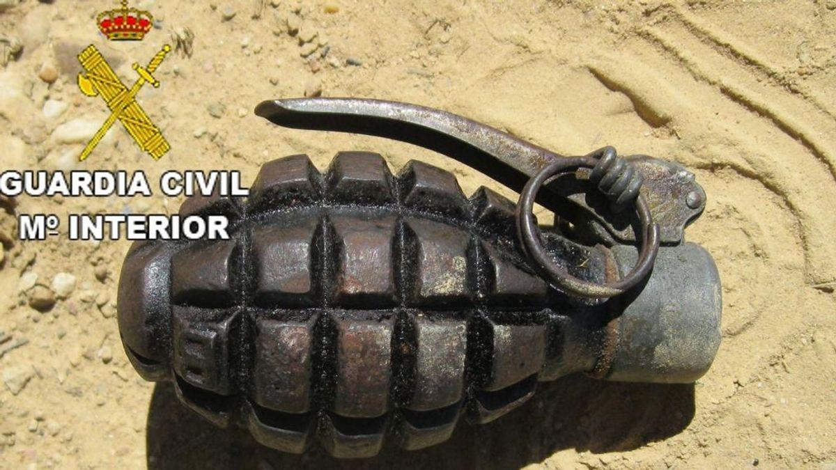 Localizan en un trastero de Santander 9 artefactos explosivos de la Guerra Civil