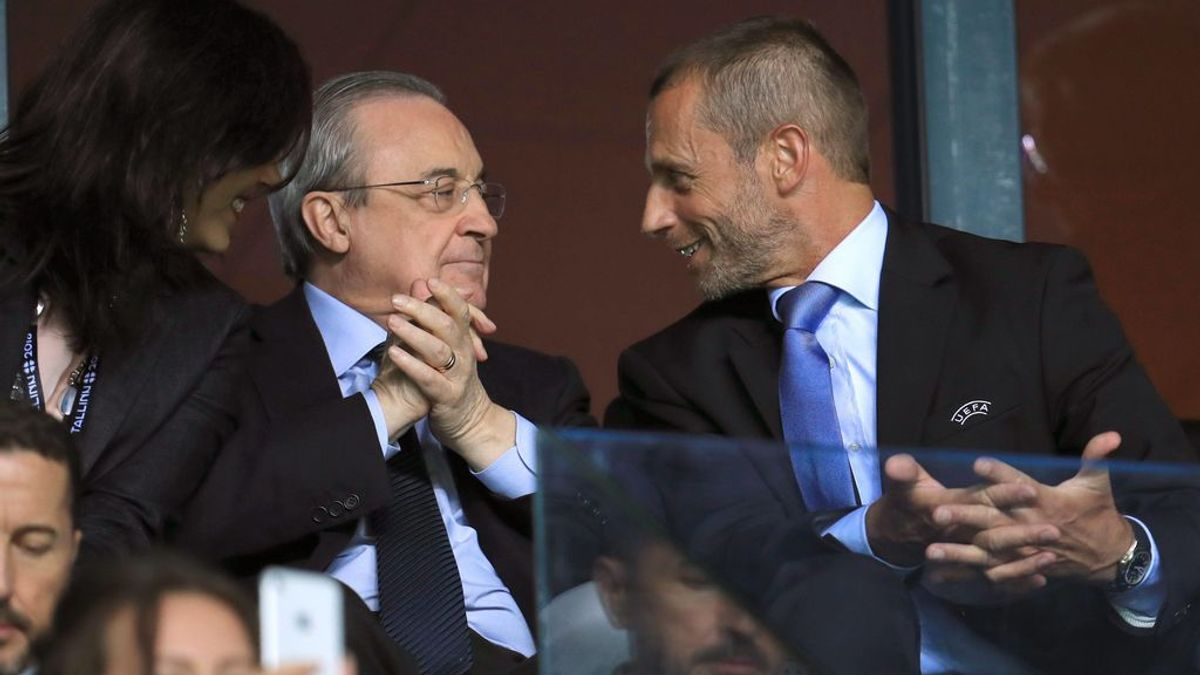 Ceferin, presidente de la UEFA, avisa al Madrid en un futuro en la Champions
