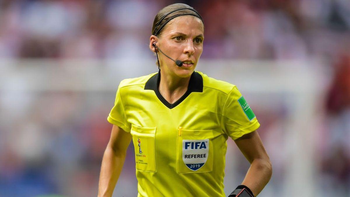 Stéphanie Frappart, de aspirante a profesora de árbitros a seleccionada para pitar en la Eurocopa