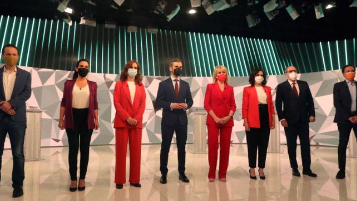 Las propuestas del debate electoral de la Comunidad de Madrid