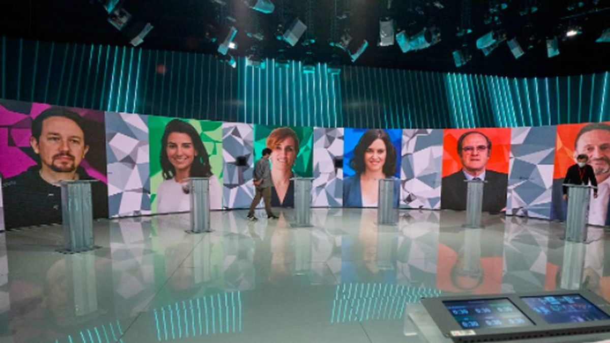 Las frases más duras del debate electoral de la Comunidad de Madrid