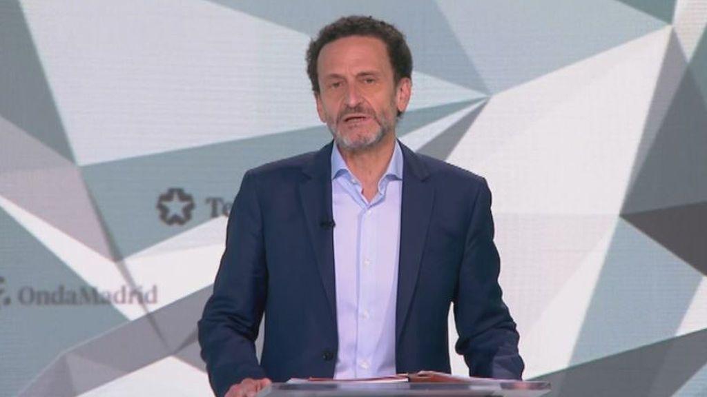 Debate 4M: minuto de oro de Edmundo Bal