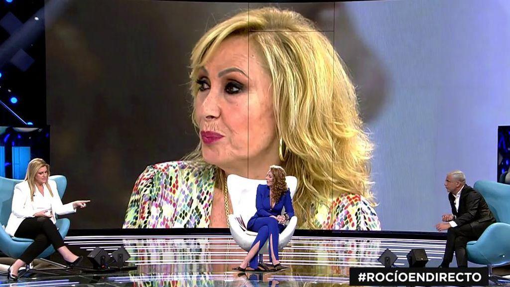 """Rocío Carrasco responde en su entrevista a las acusaciones de su tía, Rosa Benito: """"Me da pena porque no tiene a qué agarrarse"""""""