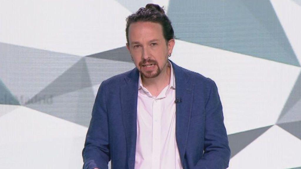 Debate 4M: minuto de oro de Iglesias