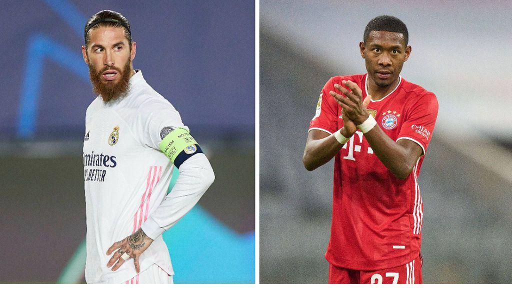 El Real Madrid enfría la renovación de Sergio Ramos y se centra en el fichaje de David Alaba