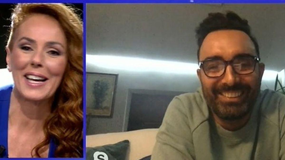 Fidel Albiac entró en la entrevista a Rocío