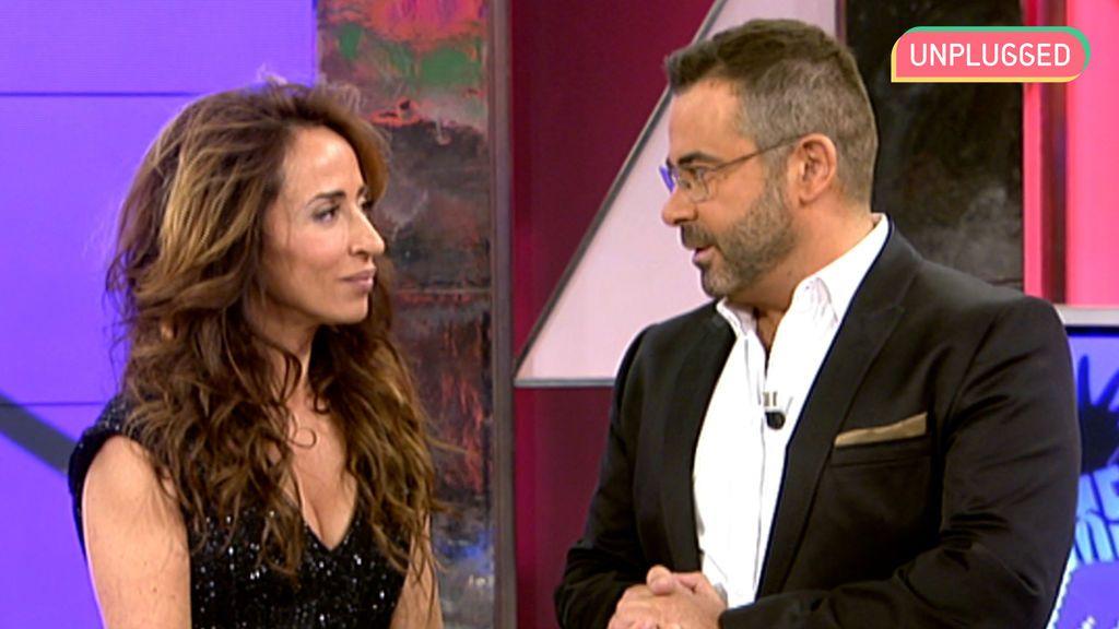 María Patiño y Jorge Javier en 'Sábado Deluxe' (2012)