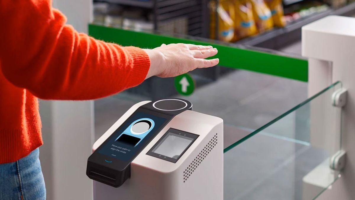Amazon One: paga con la palma de la mano en el supermercado