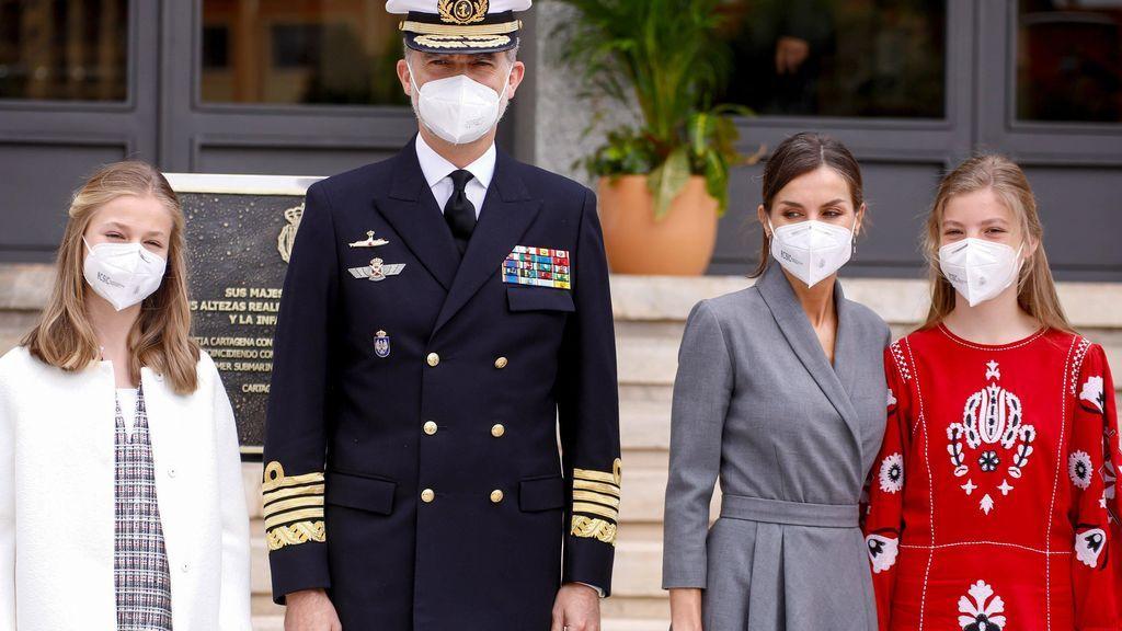 La infanta Sofía deja ver su cicatriz ocho meses después de su incidente en Mallorca