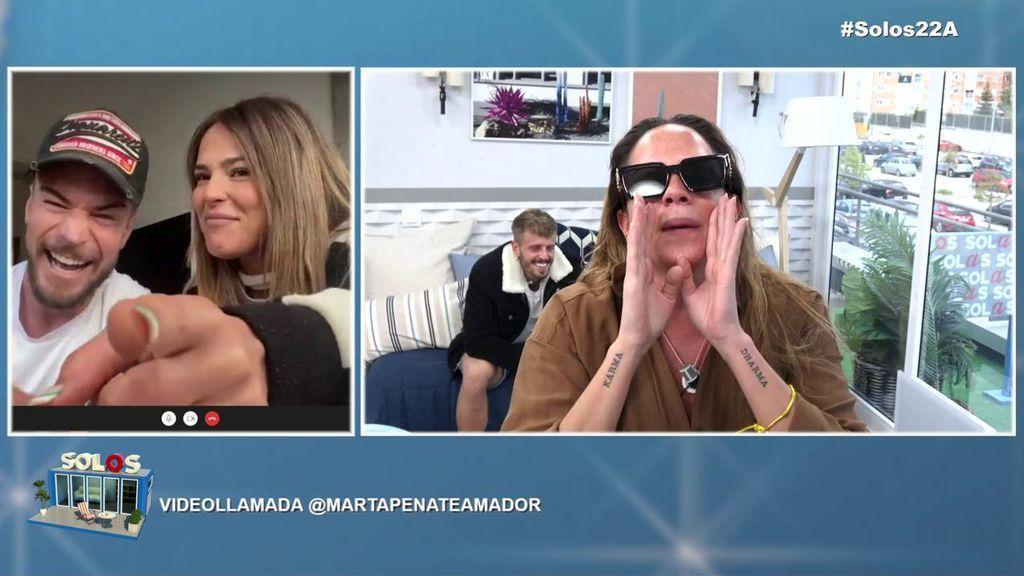 """¡Tremenda bronca en 'Solos'! Samira arremete contra Marta Peñate: """"¿Sabes por qué no me acosté con Tony al salir de 'La casa fuerte'?"""