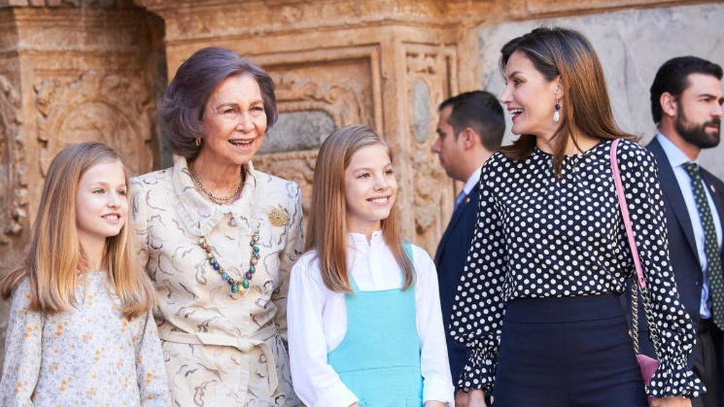 El altercado entre Letizia y doña Sofía en la misa de Pascua también dio mucho que hablar.