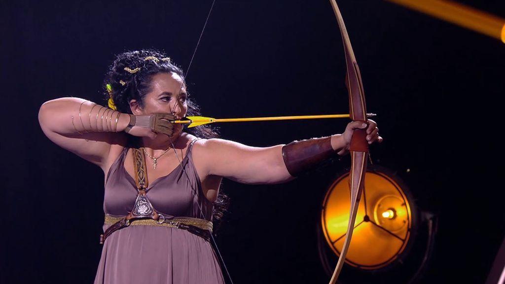 La actuación de Encarna en la cuarta semifinal