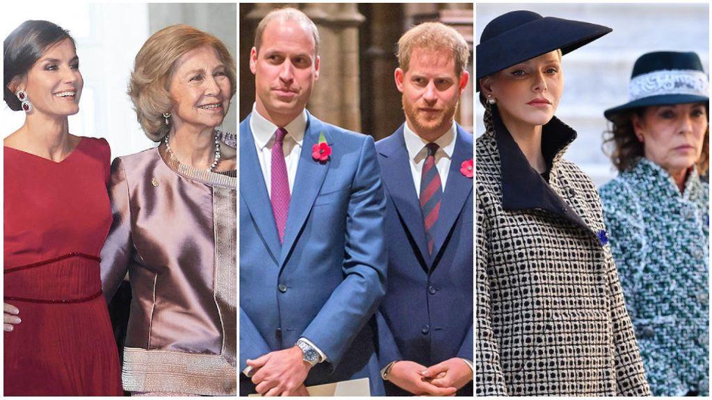 El de Harry y William no ha sido el único: los enfrentamientos de casas reales más sonados y controvertidos.