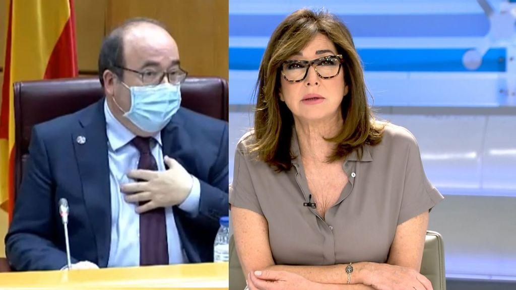 Ana Rosa, indignada al saber el motivo por el que en Cataluña no se vacunan a policías y guardias civiles