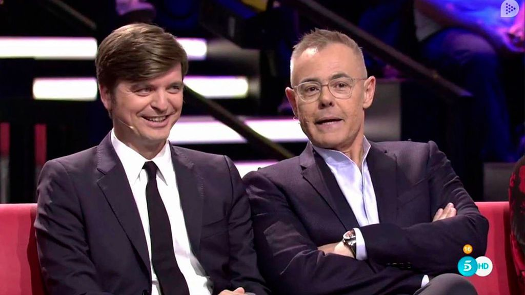 Marc Giró, con Jordi González en 'GH Revolution'