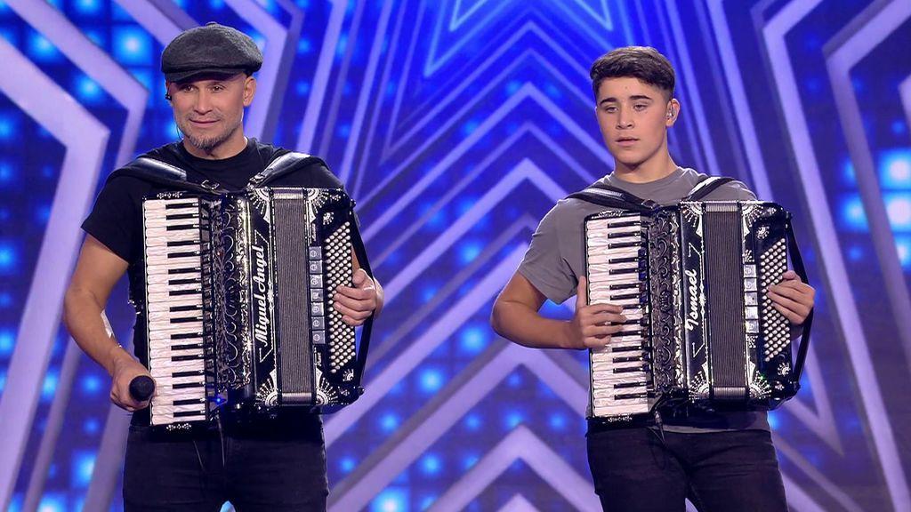 La actuación de Isma y Miguel en la cuarta semifinal