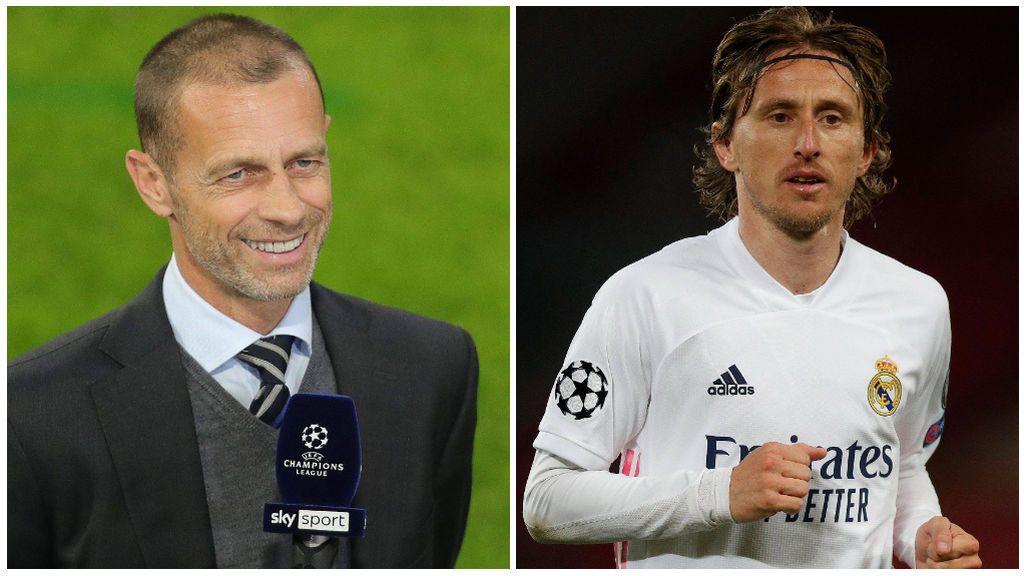 La UEFA estudió la posibilidad de expulsar al Madrid de la Champions.