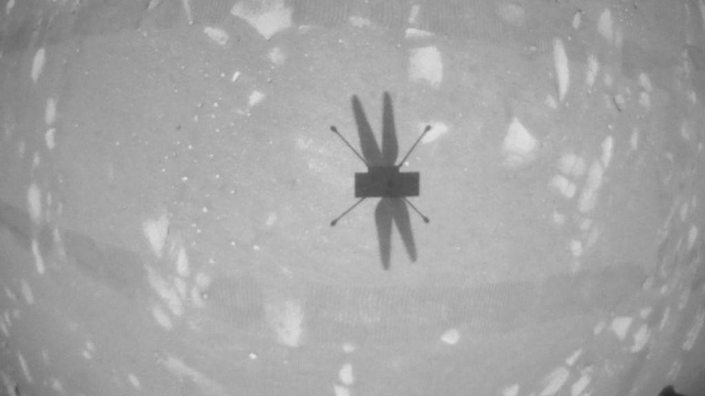 El helicóptero Ingenuity supera su segunda prueba: así ha sido el complicado vuelo