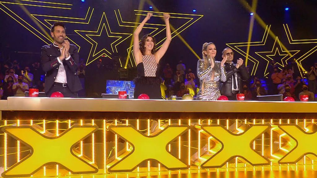 Los tres elegidos como finalistas en la cuarta semifinal