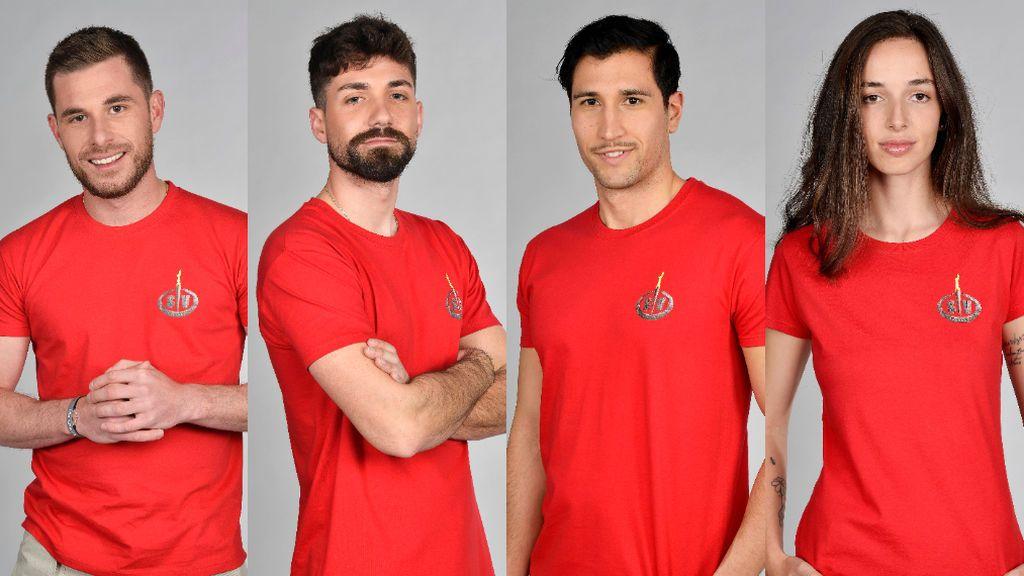 Tom Brusse, Alejandro Albalá, Gianmarco Onestini y Palito Dominguín, nuevos nominados de 'Supervivientes 2021'
