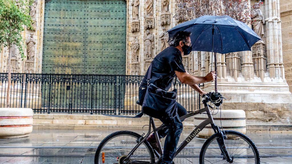 Abril se va a despedir con una cortina de lluvias: el tiempo para la semana que viene