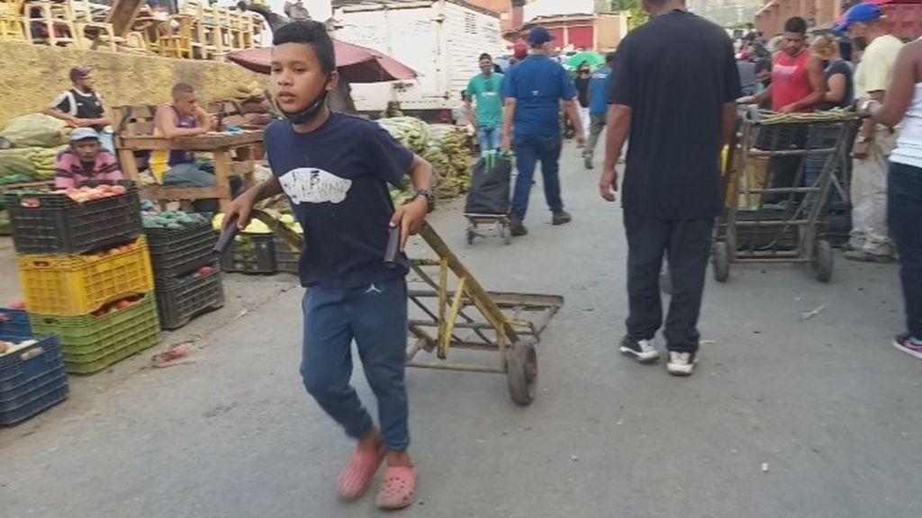 Trabajo infantil en Venezuela