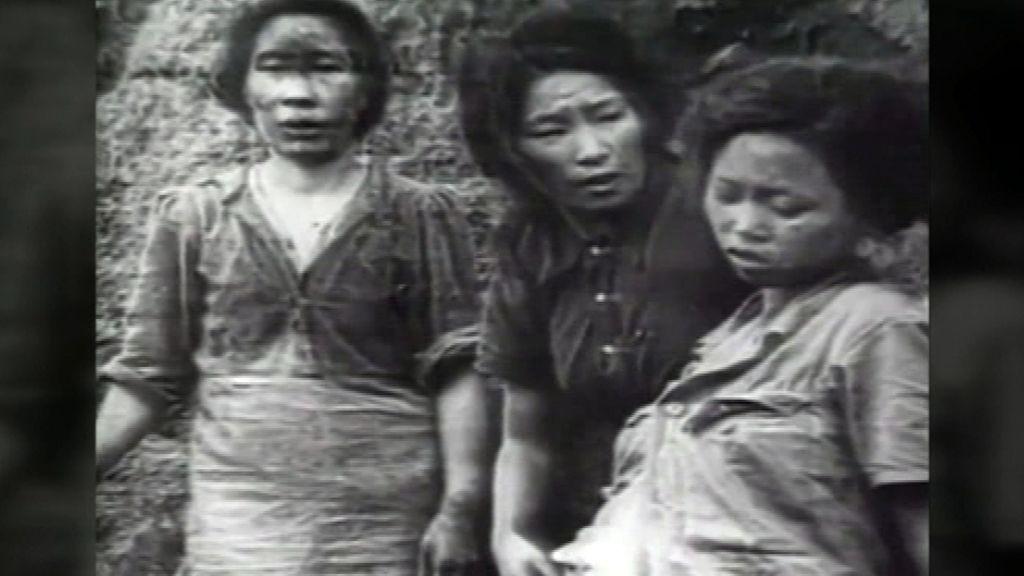 Las esclavas sexuales surcoreanas reclutadas por Japón que ahora piden justicia