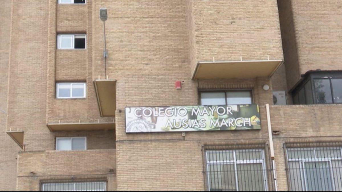 El brote en el Colegio Mayor Ausiàs March de Valencia se eleva a 89 positivos