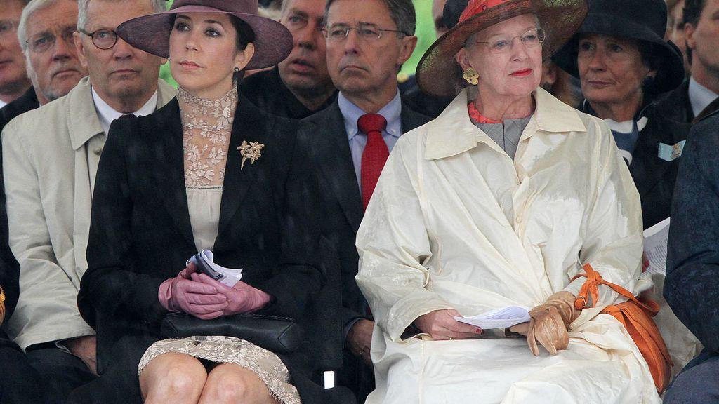 La reina Margarita siempre ha sido muy exigente con sus nueras.
