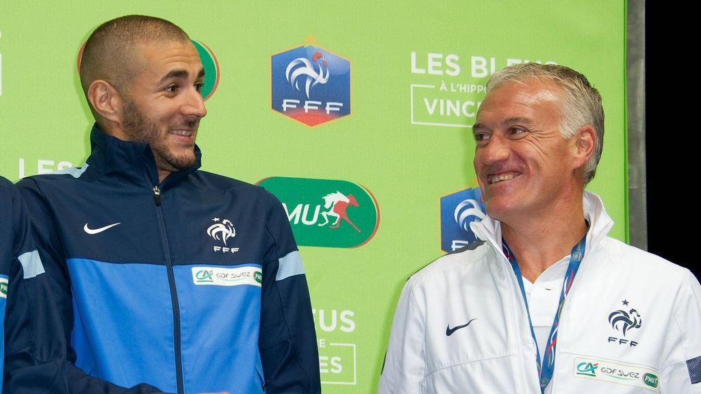 """La vuelta de Benzema a la Selección francesa fue boicoteada: """"Su relación con Deschamps es de padre e hijo"""""""