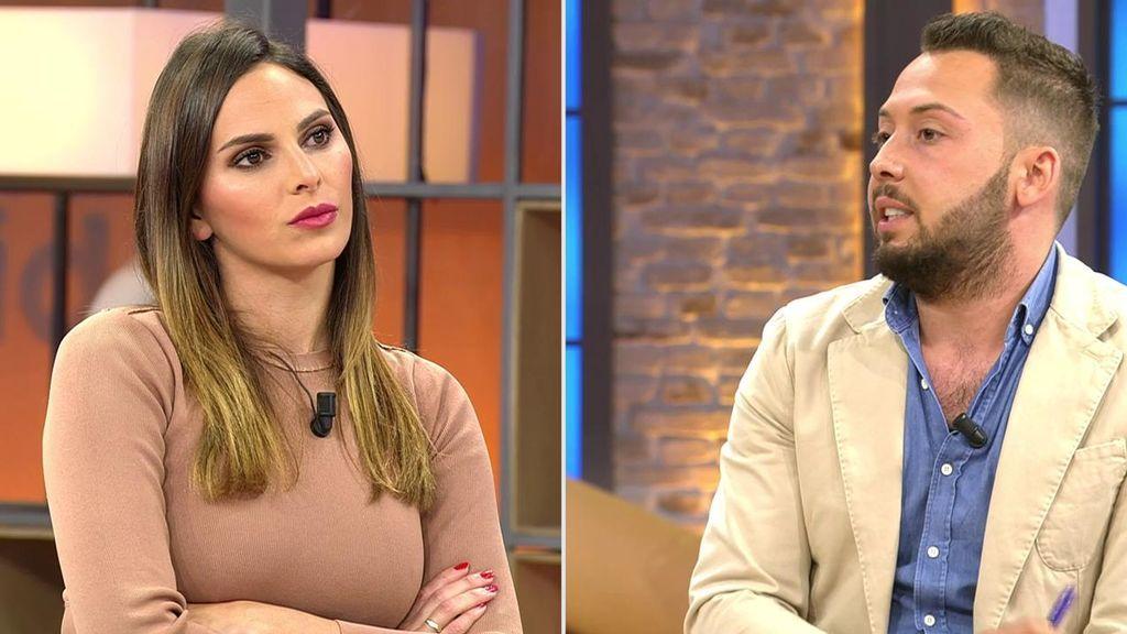 Irene Rosales y José Antonio Avilés.