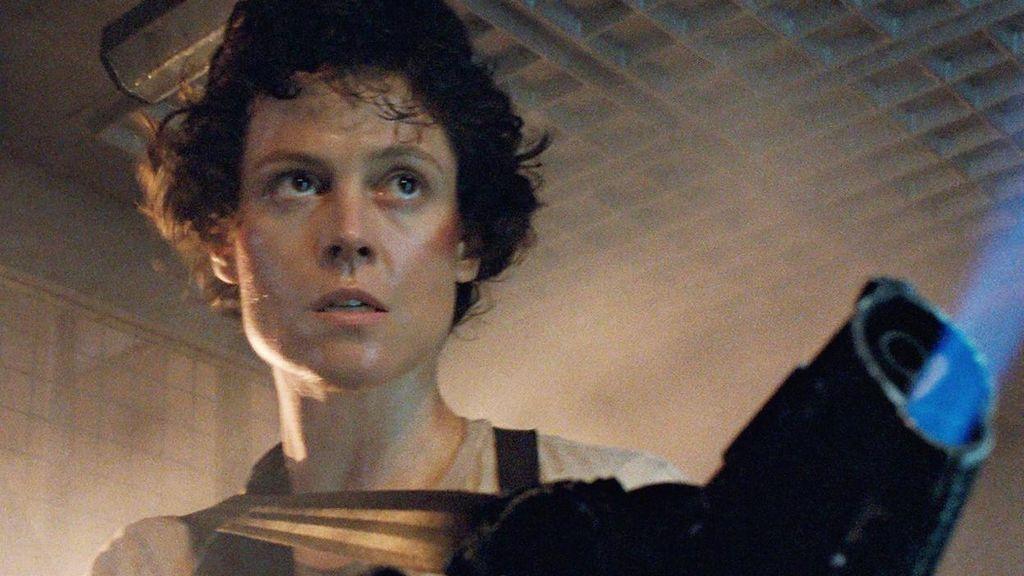 Sigourney Weaver en 'Aliens: El regreso'