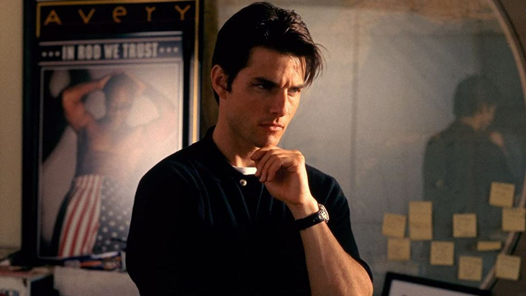 Tom Cruise en 'Jerry Maguire'