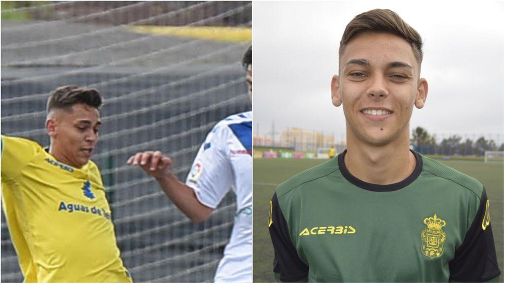 Fallece de forma repentina Luis Ojeda, exjugador de Las Palmas, a los 20 años y el mundo del fútbol se vuelca