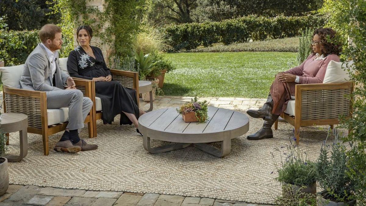 """Oprah se pronuncia tras la entrevista de Meghan y Harry: """"No me doy ningún mérito"""""""