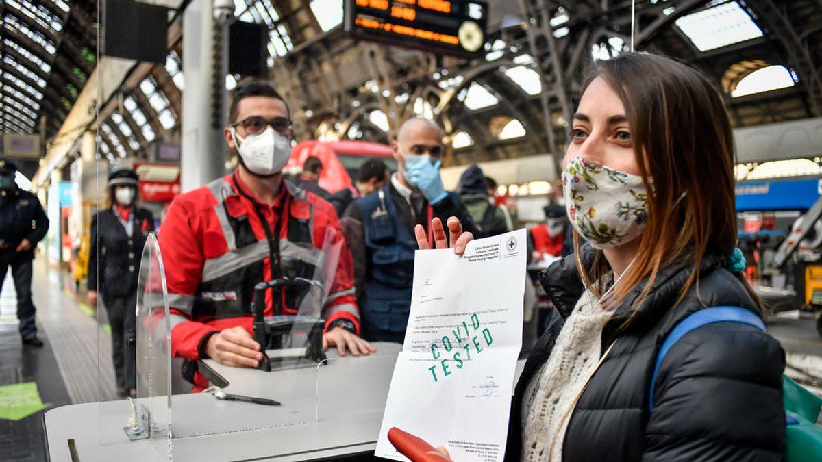 Italia registra más de 13.800 casos nuevos de coronavirus y 322 fallecidos