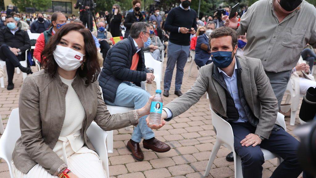 """Elecciones Madrid 2021: Casado acusa a la izquierda de """"resucitar el dóberman"""", """"No queremos piedras ni balas"""""""