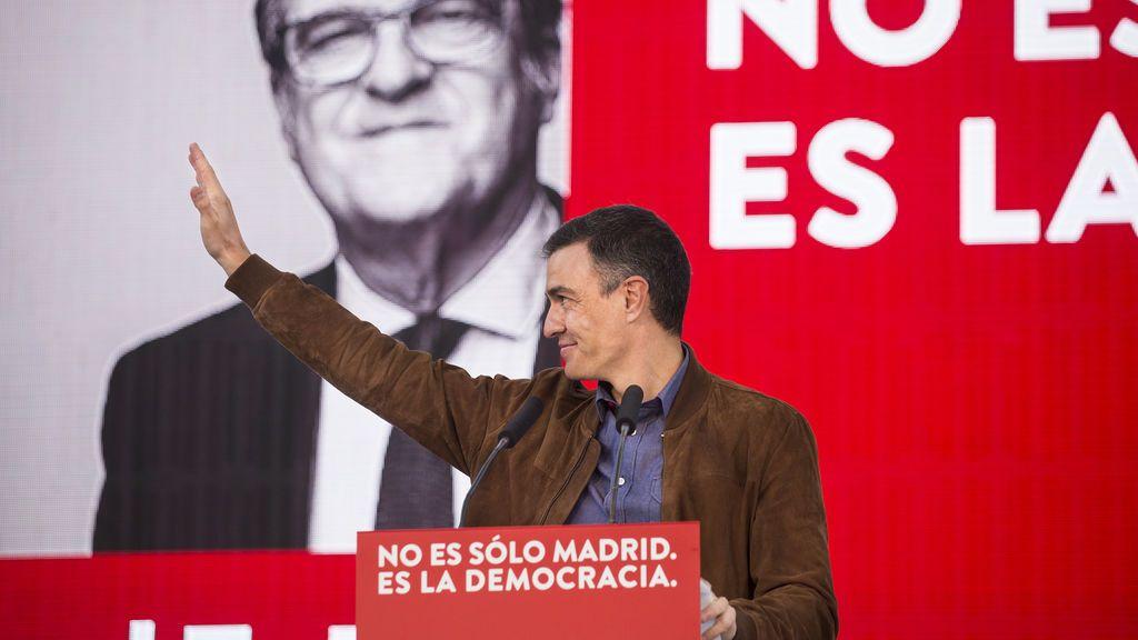 """Sánchez plantea el 4M como un plebiscito contra Vox: """"No es sólo Madrid, es la democracia"""""""